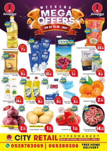 UAE - Sharjah / Ajman City Retail offers in D4D Online. Weekend Mega Offers. . Till 6th February