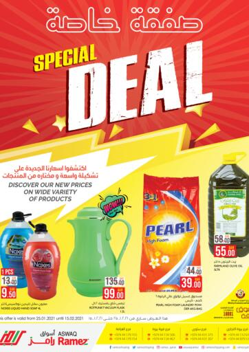 Qatar - Al Rayyan Aswaq Ramez offers in D4D Online. Special Deal. Aswaq Ramez is now with Special Deal Offers.. Get these  Amazing Deals Offers  now itself . Offers valid till 15th February. Enjoy Shopping..!!!. Till 15th February