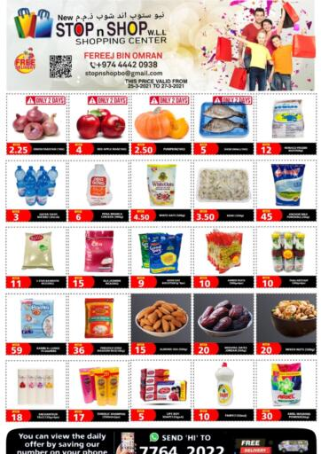 Qatar - Al Wakra New Stop n Shop @Fereej Bin Omran offers in D4D Online. Best Offers. . Till 27th March