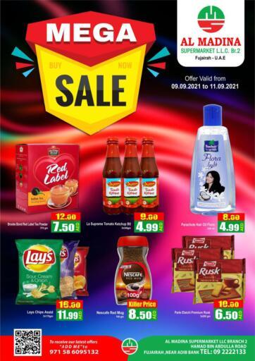 UAE - Fujairah Al Madina Supermarket LLC offers in D4D Online. Hamad Bin Abdullah, Fujairah. . Till 11th September