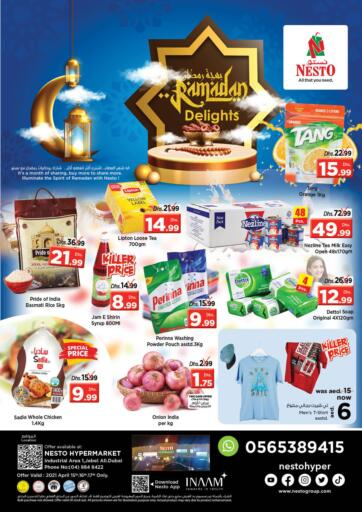 UAE - Dubai Nesto Hypermarket offers in D4D Online. Jebel Ali - Dubai. Get Special Ramadan Offers On Your Favorite Products From Nesto Hypermarket Before 17th April 2021.  Enjoy Shopping!!!. Till 17th April