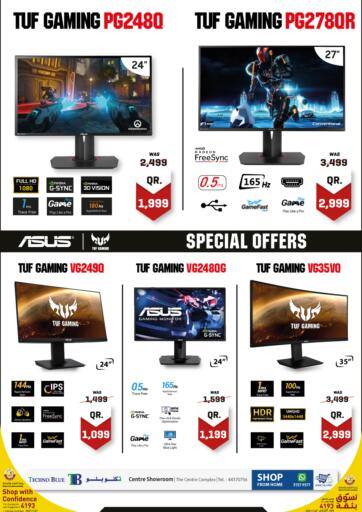Qatar - Al-Shahaniya Techno Blue offers in D4D Online. Special prices on Gaming monitors. Now its time to shop from Techno Blue. Get Special prices on Gaming monitors offers and get your products at great discounts. Offers valid Until Stock Lasts  Hurry Up!!!!!. Until Stock Lasts