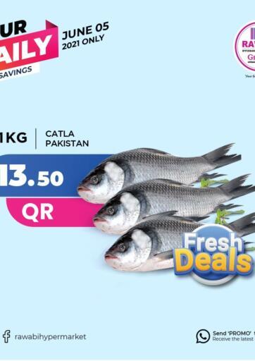 Qatar - Al-Shahaniya Rawabi Hypermarkets offers in D4D Online. Fresh Deals. . Only On 5th June