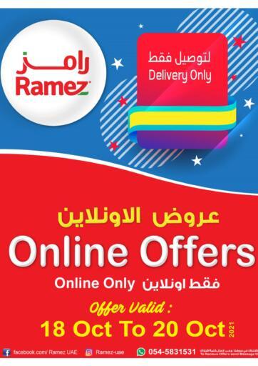 UAE - Sharjah / Ajman Aswaq Ramez offers in D4D Online. Online Offers. . Till 20th October