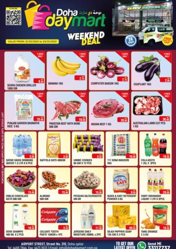 Qatar - Doha Doha Daymart offers in D4D Online. Weekend Deal.  Weekend Deal Offers are now available at the best price, hurry now. offers are valid Till 23rd January.  Enjoy Shopping!!!. Till 23rd January