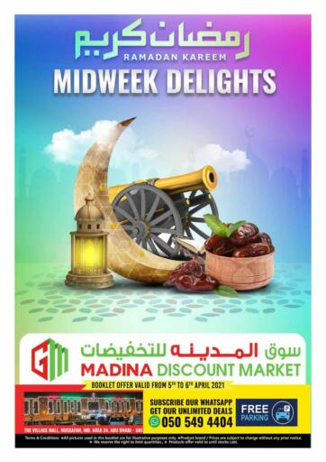 UAE - Abu Dhabi Al Madina Hypermarket offers in D4D Online. Midweek Delights. . Till 6th April