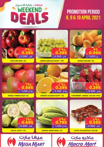 Bahrain MegaMart & Macro Mart  offers in D4D Online. Weekend Deals. Weekdays Offer At MegaMart & MacroMart! Offer Includes Groceries, Cookware & much more at reduced prices. Offer Valid Till 10th  April. Happy Shopping!!. Till 10th April