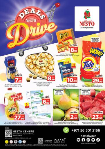 UAE - Ras al Khaimah Nesto Hypermarket offers in D4D Online. Ras Al Khaima. Shop More Pay Less With Nesto Hypermarket.Exciting Offers Waiting For you On Varieties Of Products Till 24th March 2021.  Enjoy Shopping!!!. Till 24th March