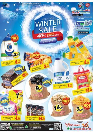 UAE - Ras al Khaimah Gulf Hypermarket offers in D4D Online. Winter Sale. . Till 30th January