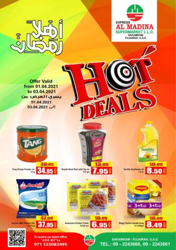 UAE - Fujairah Al Madina Supermarket LLC offers in D4D Online. Hot Deals @ Sakamkam. . Until Stock Last