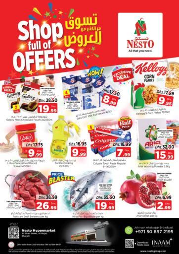 UAE - Fujairah Nesto Hypermarket offers in D4D Online. Al Majaz, Sharjah. . Till 13th October