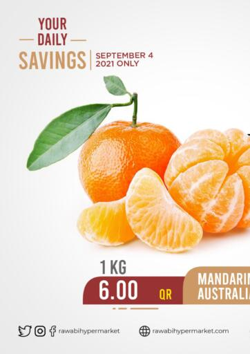 Qatar - Al Rayyan Rawabi Hypermarkets offers in D4D Online. Your Daily Savings. . Only On 4th September