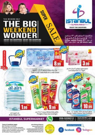 UAE - Dubai Istanbul Supermarket offers in D4D Online. The Big Weekend Wonder. . Till 23rd January