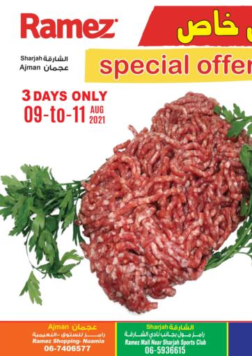 UAE - Dubai Aswaq Ramez offers in D4D Online. Special Offer. . Till 11th August