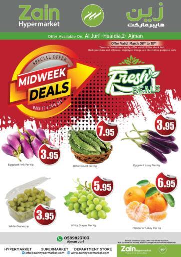 UAE - Sharjah / Ajman Zain Hypermarket offers in D4D Online. Midweek Deals @ Al Jurf. . Till 10th March
