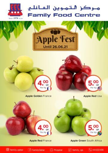 Qatar - Al-Shahaniya Family Food Centre offers in D4D Online. Apple fest at family food centre. Apple festOffers Are Available At Family Food Centre. Offers Are Valid Till   26th June Enjoy Shopping!!. Till 26th june