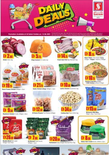 Qatar - Al-Shahaniya Safari Hypermarket offers in D4D Online. Daily Deals. . Only on 14th June