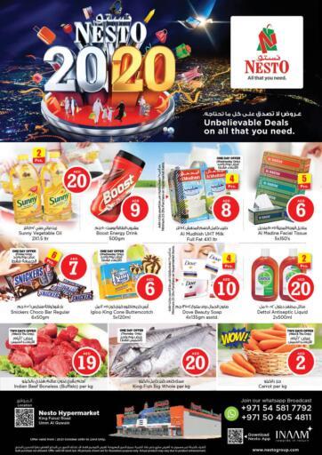 UAE - Umm al Quwain Nesto Hypermarket offers in D4D Online. Umm Al Quwain. . Till 23rd October