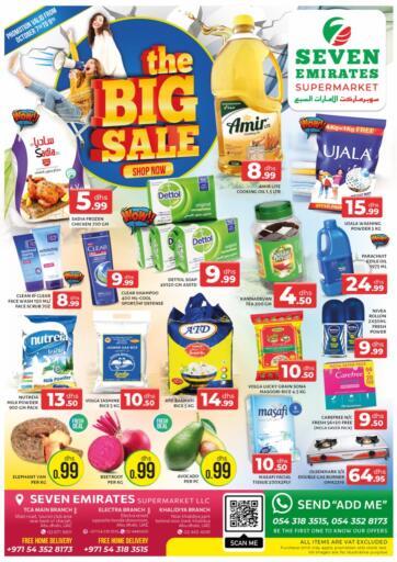 UAE - Abu Dhabi Seven Emirates Supermarket offers in D4D Online. The Big Sale. . Till 9th October