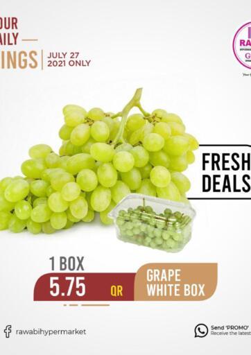 Qatar - Al-Shahaniya Rawabi Hypermarkets offers in D4D Online. Fresh Deals. . Only On 27th July
