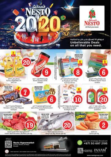 UAE - Sharjah / Ajman Nesto Hypermarket offers in D4D Online. Al Khan Street Al Majaz, Sharjah. . Till 23rd October