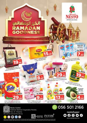 UAE - Ras al Khaimah Nesto Hypermarket offers in D4D Online. Ras Al Khaima. . Till 10th April