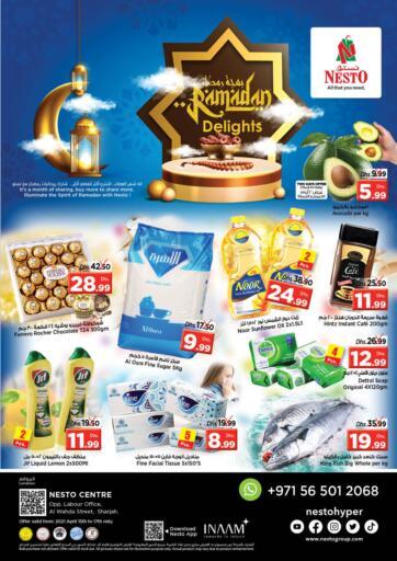 UAE - Sharjah / Ajman Nesto Hypermarket offers in D4D Online. Al Wahda Street, Sharjah. . Till 17th April