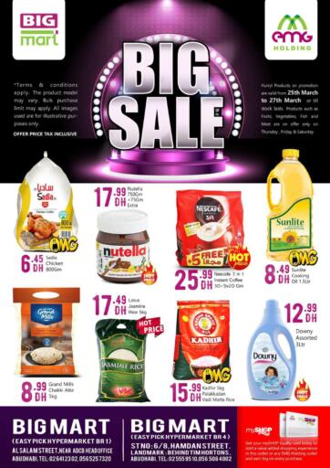 UAE - Abu Dhabi BIGmart offers in D4D Online. Big Sale. . Till 27th March