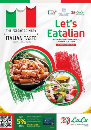 Qatar - Al Khor LuLu Hypermarket offers in D4D Online. Lets Eatalian. . Till 18th September