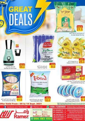 UAE - Sharjah / Ajman Aswaq Ramez offers in D4D Online. Great Deals. Great Deals On shopping from Aswaq Ramez With Their Special Offer. Valid Till 14th September 2021.  Enjoy Shopping!!!. Till 14th September