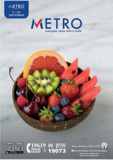 Egypt - Cairo Metro Market  offers in D4D Online. Special Offers. Special Offers Available At Metro Market .Offer Valid Till 15th September. Hurry Up!!. Till 15th September