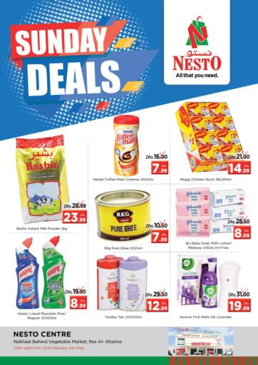 UAE - Ras al Khaimah Nesto Hypermarket offers in D4D Online. Ras Al Khaima. . Only On 21st February