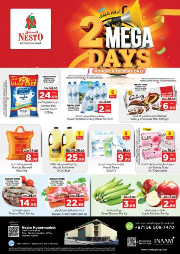 UAE - Fujairah Nesto Hypermarket offers in D4D Online. Mushrif, Ajman. . Till 19th October
