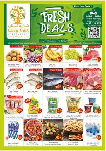 Qatar - Al-Shahaniya Carry Fresh Hypermarket offers in D4D Online. Fresh Deals @Muaither. . Till 29th September