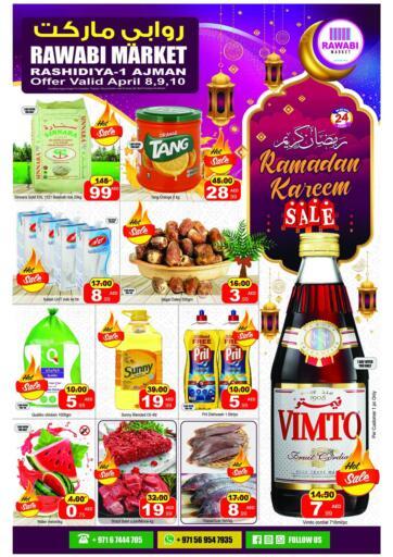 UAE - Sharjah / Ajman Rawabi Market Ajman offers in D4D Online. Ramadan Kareem Sale. . Till 10th April