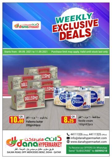 Qatar - Al Wakra  Dana Hypermarket offers in D4D Online. Weekly Exclusive Deals. . Till 11th September