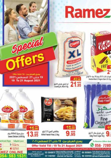 UAE - Sharjah / Ajman Aswaq Ramez offers in D4D Online. Special Offers. Special Offers Now Available At Aswaq Ramez.Get Your Products At Best Price. Offer Valid Till 21st August 2021.  Enjoy Shopping!!!. Till 21st August
