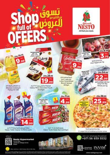 UAE - Sharjah / Ajman Nesto Hypermarket offers in D4D Online. Jumeira Village Circle, Dubai. . Till 13th October