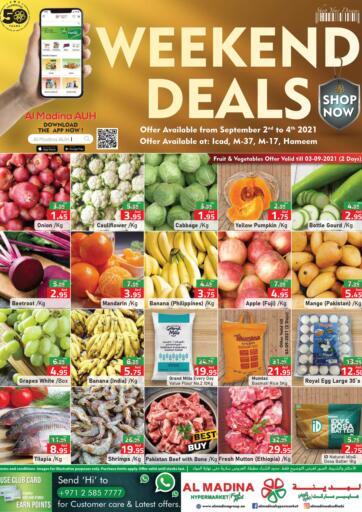 UAE - Abu Dhabi Al Madina Hypermarket offers in D4D Online. Weekend Deals @ICAD, M-37, M-17, Hameem. . Till 4th September