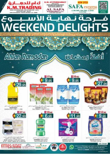 UAE - Abu Dhabi K M Trading  offers in D4D Online. Weekend Delights!. . Till 20th April