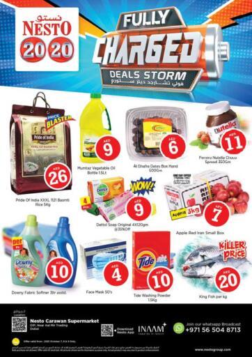 UAE - Sharjah / Ajman Nesto Hypermarket offers in D4D Online. DIP - Dubai. . Till 9th October