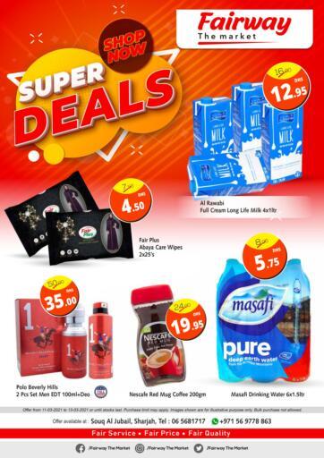 UAE - Sharjah / Ajman Fairway The Market offers in D4D Online. Super Deals. . Until Stock Last