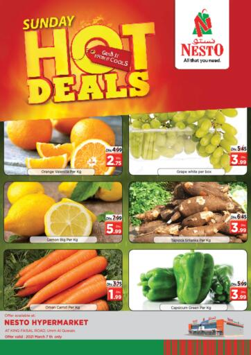 UAE - Umm al Quwain Nesto Hypermarket offers in D4D Online. Umm Al Quwain. . Only On 07th March