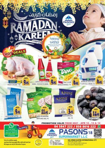 UAE - Dubai Pasons Supermarkets & Hypermarkets offers in D4D Online. Spain Cluster - Big 3 Days Deals. . Till 14th April