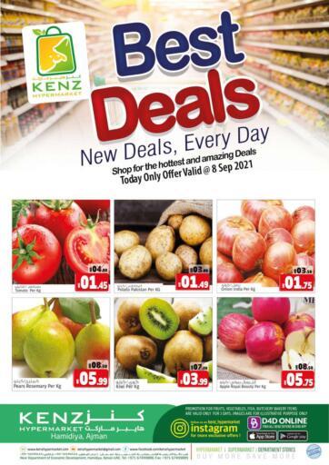 UAE - Sharjah / Ajman Kenz Hypermarket offers in D4D Online. Best Deals. . Only On 8th September