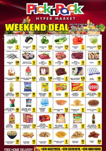 Qatar - Al Khor Pick n Pack offers in D4D Online. Weekend Deal. . Till 15th March