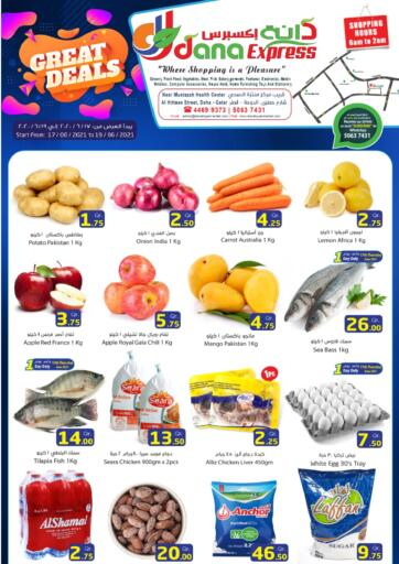 Qatar - Al-Shahaniya Dana Express offers in D4D Online. Great Deals. . Till 19th June