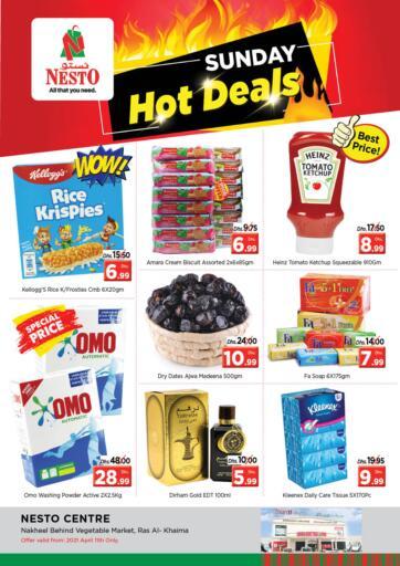 UAE - Ras al Khaimah Nesto Hypermarket offers in D4D Online. Ras Al Khaima. . Only On 11th April