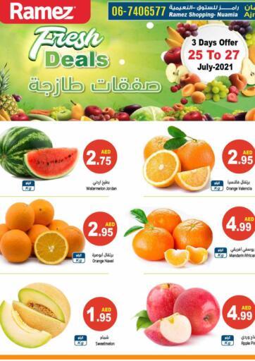 UAE - Dubai Aswaq Ramez offers in D4D Online. Fresh Deals. . Till 27th July