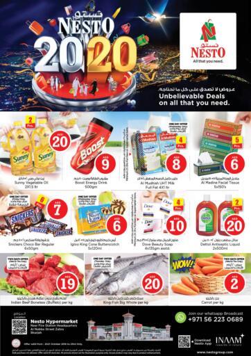 UAE - Sharjah / Ajman Nesto Hypermarket offers in D4D Online. Al Nabha Street Zahra,Sharjah. . Till 23rd October